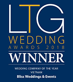 bliss vietnam wedding planner LTG Award 2018