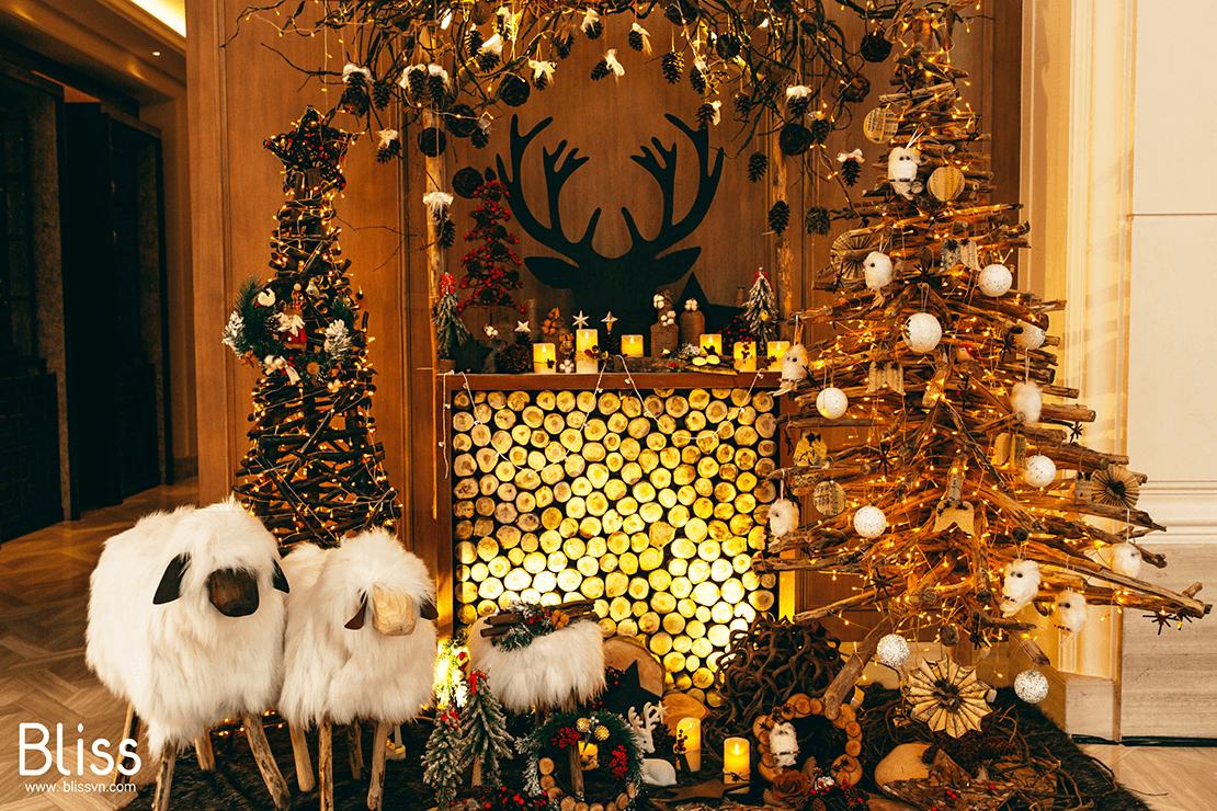 christmas xmas hotel decoration in vietnam by bliss wedding and events