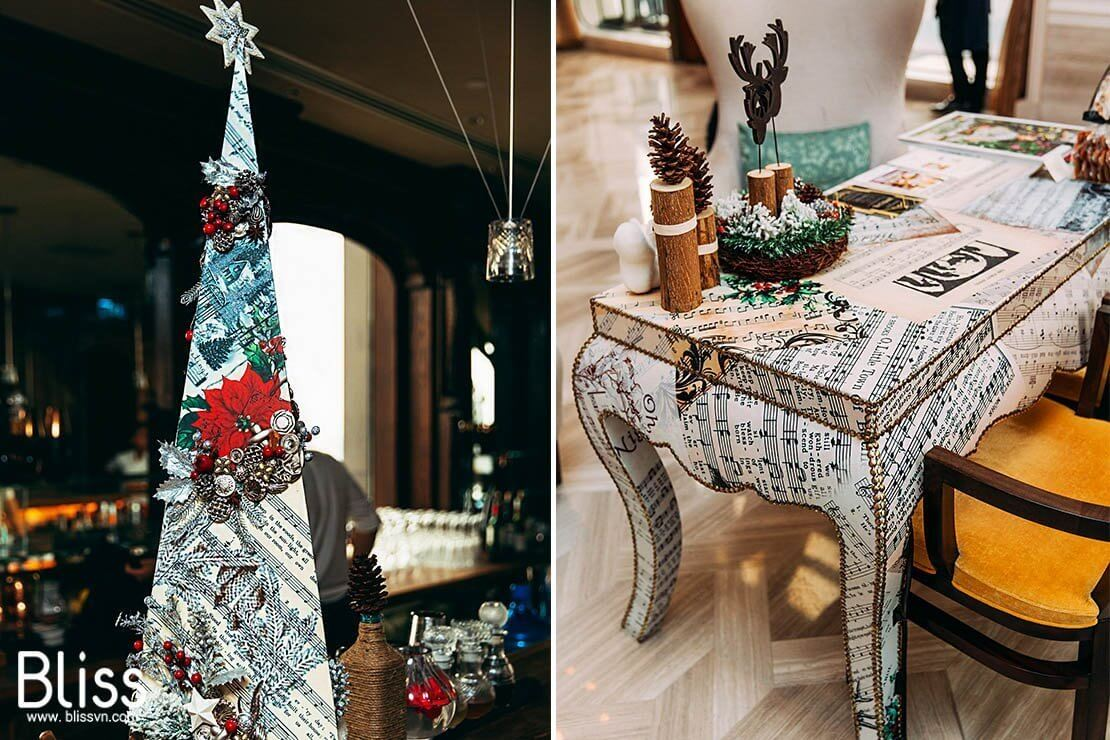 xmas hotel decoration idea by bliss wedding and event