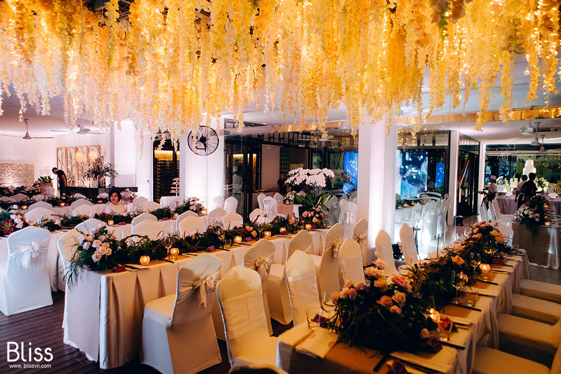 wedding decor idea by bliss wedding planner vietnam
