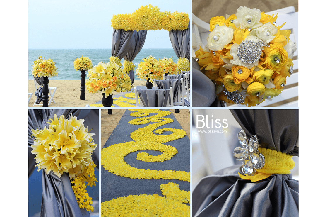 destination beach wedding in intercontinental da nang bliss wedding planner vietnam, tiệc cưới bãi biển tại intercontinental đà nẵng,