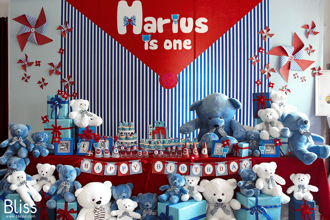 first birthday decoration in vietnam by bliss events
