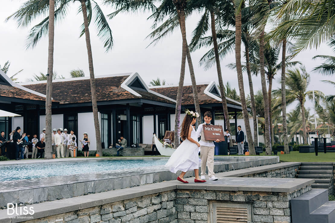 vietnam destination wedding in four season the nam hai resort hoi an, bliss wedding planner vietnam