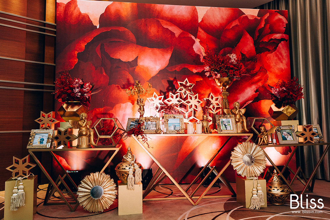 bliss wedding planner vietnam, gallery table decoration