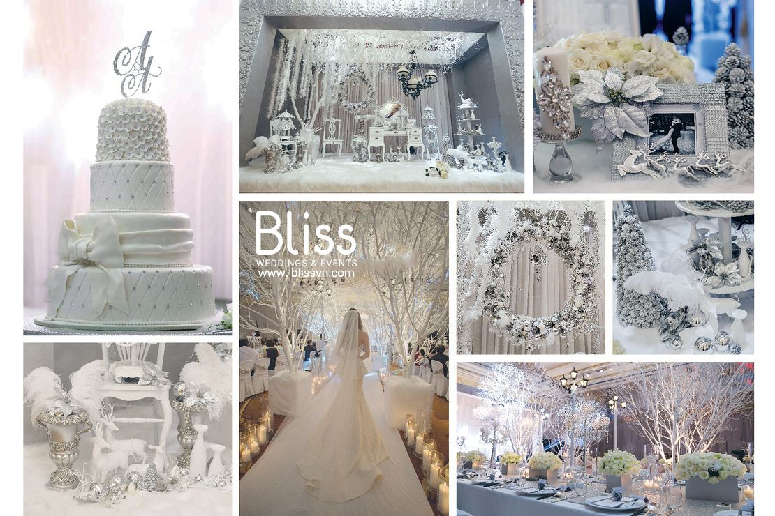 A Christmas Wedding by Bliss Wedding Planner