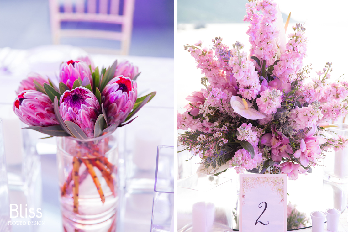 Decorate fresh flowers for your special events