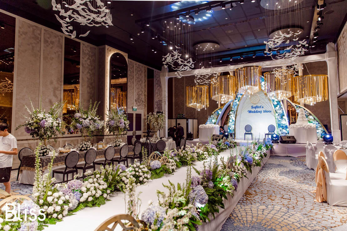 luxury wedding fair in sofitel vietnam bliss wedding and event planner vietnam