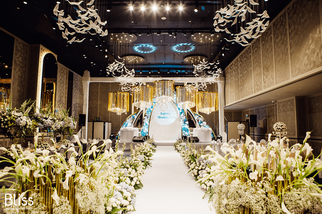 luxury wedding event in sofitel vietnam bliss wedding and event planner việt nam