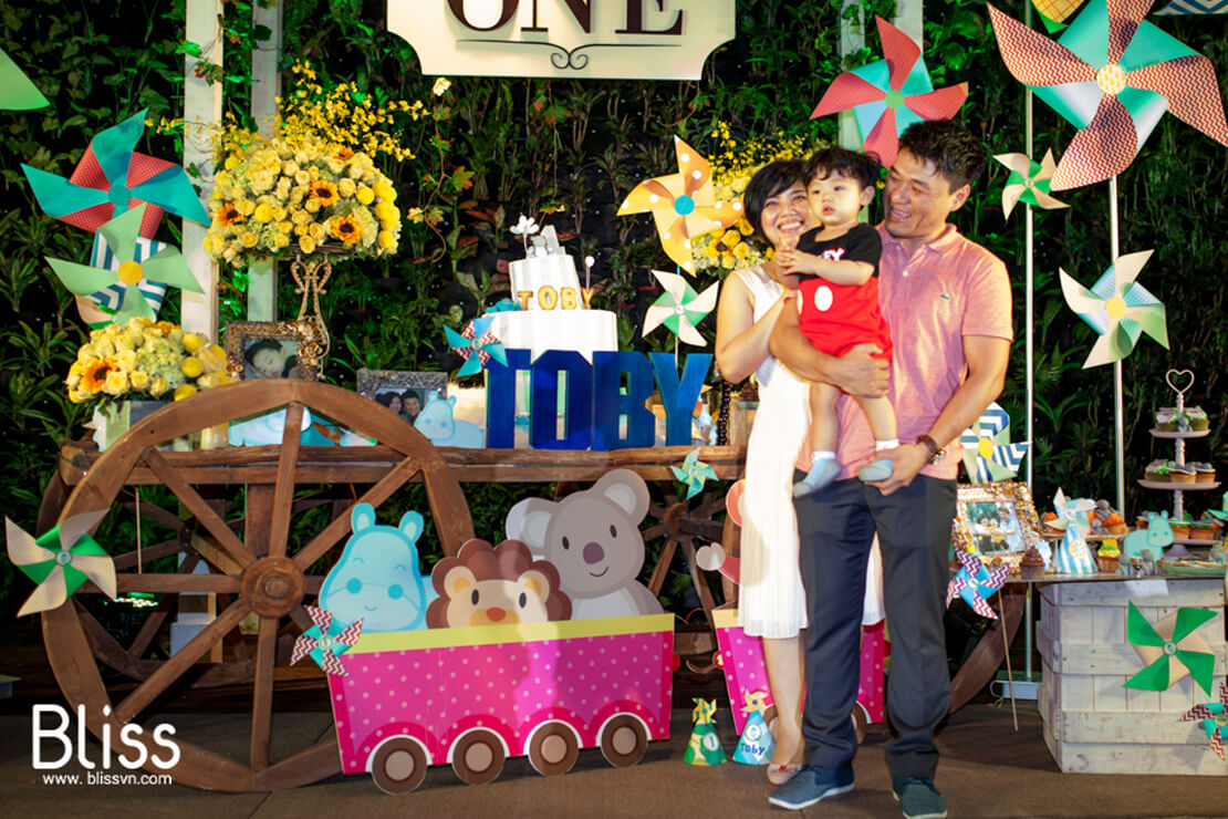 first birthday party in vietnam by bliss event vietnam