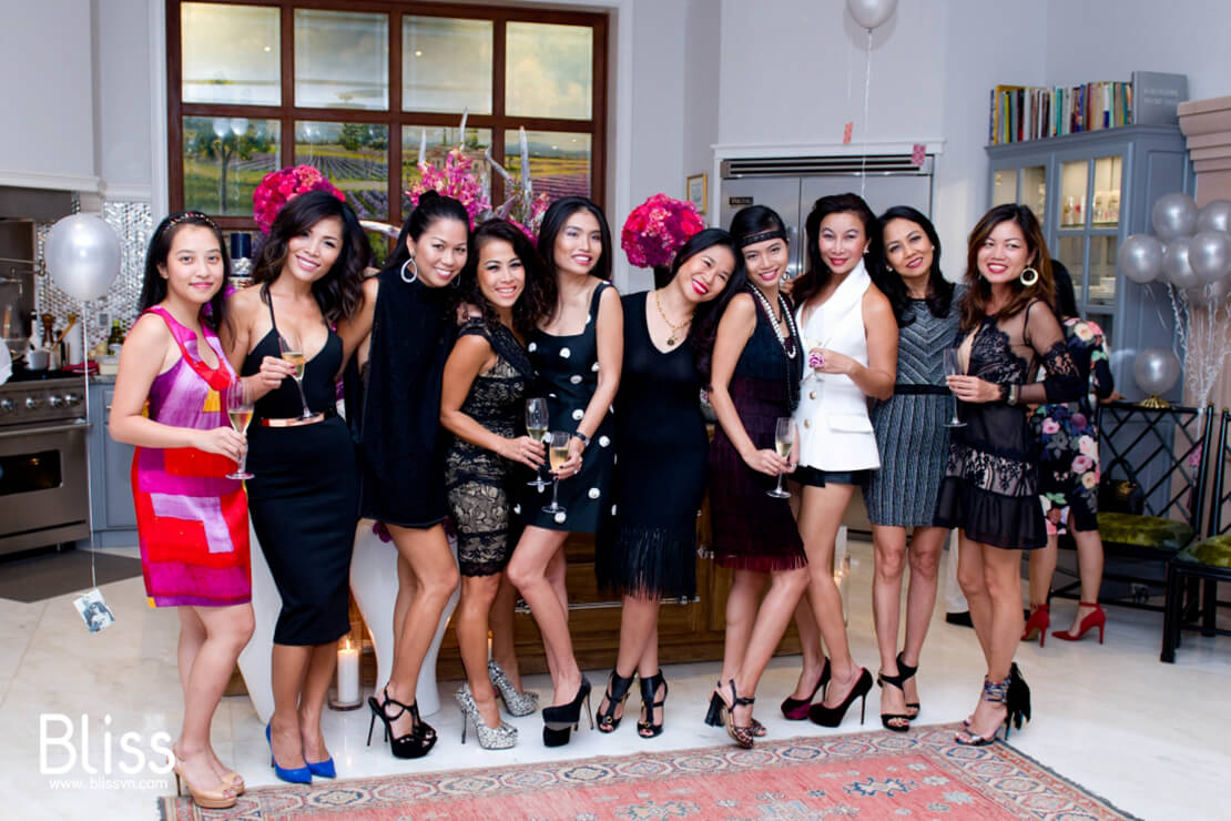 birthday party by bliss event vietnam