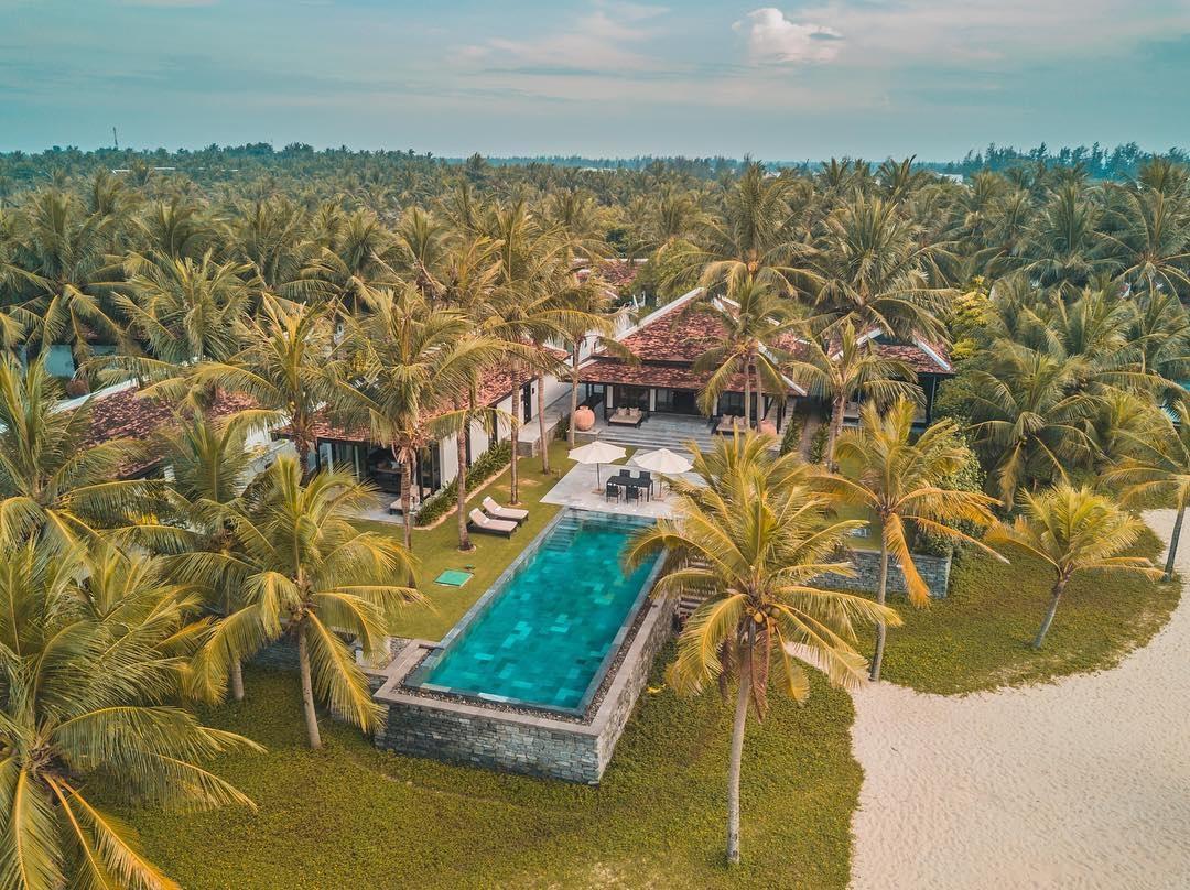four season the nam hai hoi an - Top resort tổ chức tiệc cưới bãi biển tại Việt Nam
