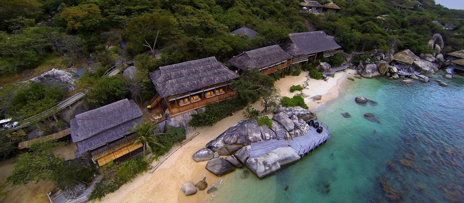 six sense ninh vân bay nha trang - Top resort tổ chức tiệc cưới bãi biển tại Việt Nam