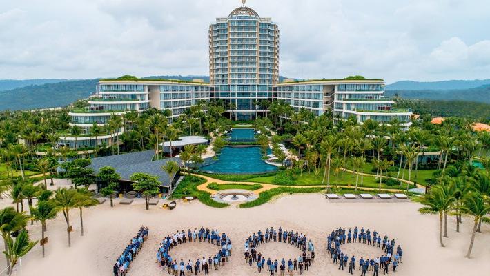 tổ chức tiệc cưới bãi biển Phú Quốc