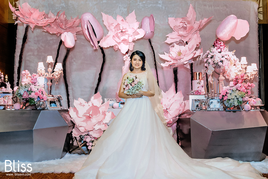 luxury wedding decoration bliss wedding vietnam